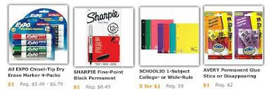 target sharpie pack black friday office supply deals for price matching at walmart target this week