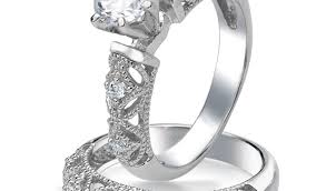 Vintage Wedding Ring Sets by Bridal Sets Diamond Engagement Rings Cheap Engagement Rings