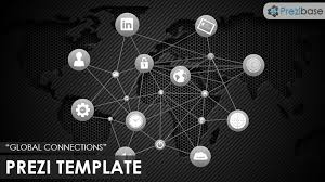 global connections prezi template prezibase