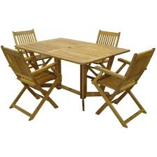 Folding Wooden Garden Table Buy Royalcraft Henley Rectangular Gateleg Table 6 Manhattan