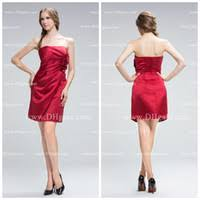 cheap red formal short dresses find red formal short dresses