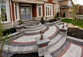 Unilock Michigan Front Entrance By Unilock With Umbriano Paver And Steps Photos