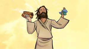 jesus feeds 5000 kids bible story kids bible stories