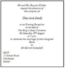 wedding invitations etiquette wedding invitation etiquette when inviting guests only to the