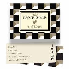 ridley u0027s games room charades calendar club uk