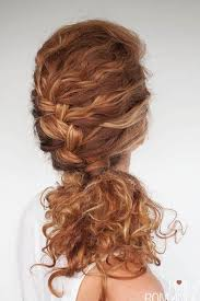 hairstyles for day old curls 25 easy and cute hairstyles for curly hair southern living