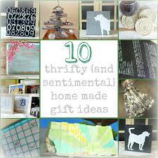 10 home made gift ideas homemade gift and tutorials