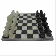 marvelous black and white onyx chess sets with modern chess set