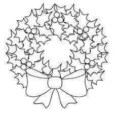 christmas garland christmas wreath template u2013 merry christmas