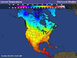 climate of america mizmenzies