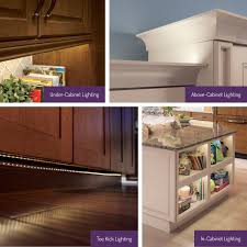 Above Cabinet Lighting by Bright Ideas For New Led Lighting Options Kraftmaid