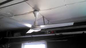 Roof Fan by Dayton Leading Edge Industrial Ceiling Fans Youtube