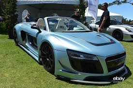 audi r8 razor gtr ppi razor spyder gtr slices its way to monterey ebay motors blog