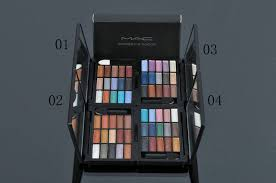 online makeup school free mac 15 color shimmer eyeshadow palette mac makeup school largest