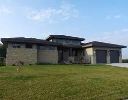 prairie style home contemporary prairie style homes type one style prairie