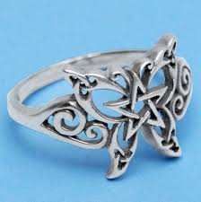 blue butterfly rings images Silver celtic butterfly ring at gryphon 39 s moon jpg