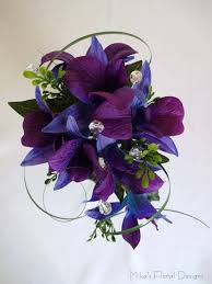 Blue Orchid Corsage Corsage Buttonhole Hairpieces For Weddings Quality Artificial