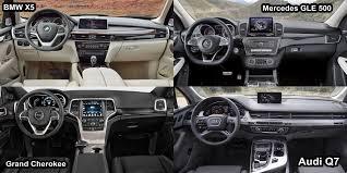 lexus suv vs bmw suv benim otomobilim 2016 bmw x5 vs audi q7 vs jeep grand