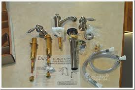 home makeover win danze prince two handled bathroom faucet