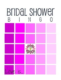 bridal shower gift bingo 12 free bridal shower bingo template