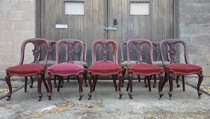 Antique Dining Sets Antique Dining Chairs Sets Of 10 Hares Antiques