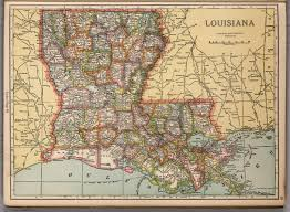 Louisiana Highway Map Louisiana