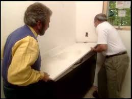 Installing A Vanity Top Solid Surface Bathroom Vanity Top Installation Youtube