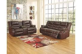 Durablend Leather Sofa Linebacker Durablend Reclining Sofa Ashley Furniture Homestore