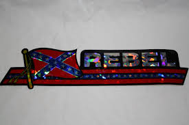 Confederate Flag Checks Confederate Flag Fish License Plate U2013 American Heritage Store