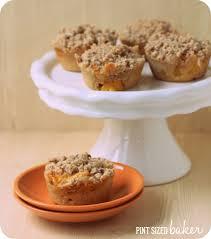 peach cobbler muffins pint sized baker