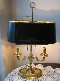 Maitland Smith Lamp Shades by Vintage Frederick Cooper Stately Brass French Empire Tole