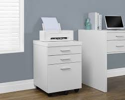 Vertical 2 Drawer File Cabinet by Amazon Com Monarch Specialties White Hollow Core 3 Drawer File
