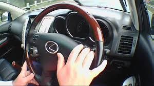 2007 lexus rx 400h awd lexus rx400h 3 3 2007 review road test test drive youtube
