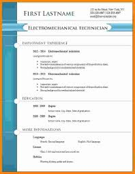 resume format free cv format theorynpractice