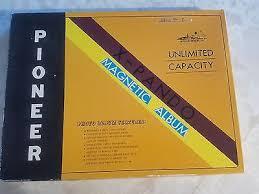pioneer jmv 207 magnetic photo album pioneer largest magnetic page x pando album jmv 207 19 95