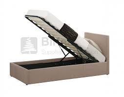 ottoman bed single birlea berlin 3ft single wheat fabric ottoman bed by birlea
