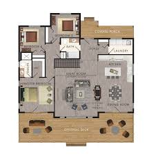 Floor Plans For Mountain Homes 411 Best House Plans Images On Pinterest Floor Plans Craftsman