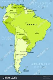 map of south america interactive map of south america with capitals all world maps