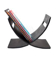 black wood magazine rack buy designer newspaper holders online