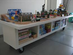 train table with storage diy home table decoration