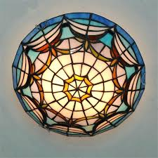 Stained Glass Ceiling Fan Light Shades Stained Glass Ceiling L Stained Glass Ceiling Fan L Shades
