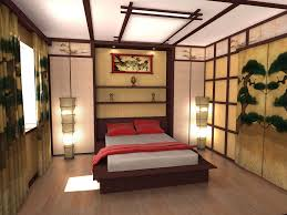 decorations elagant japanese interior decor bedroom with