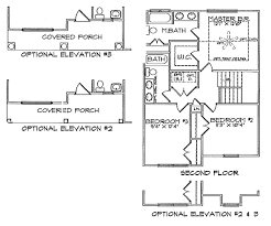 Floor Plan With Elevation by Floor Plans U2013 Barry Andrews Homes