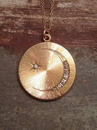 moon pendant necklace gold images 193 best sun moon necklaces images moon necklace jpg