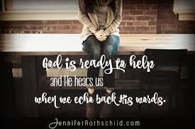 Prayer To Comfort Someone 4 Psalms To Pray When You Need God U0027s Help Jennifer Rothschild