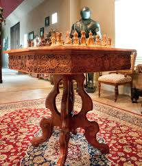 Chess Table Game Of Thrones Inspired Chess Table Part 4 Carvewright