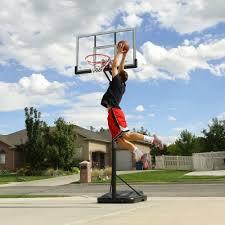black friday basketball hoop lifetime elite 52 in portable basketball hoop