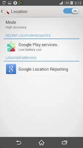 enable location services android how to enable location reporting in android android