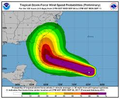 Florida East Coast Map by Hurricane Irma Florida Expected To Get Hit But Where Unclear
