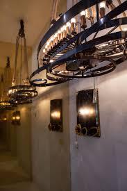 industrial style lighting chandelier lighting light bowl hand carved textured glass pendant chandelier